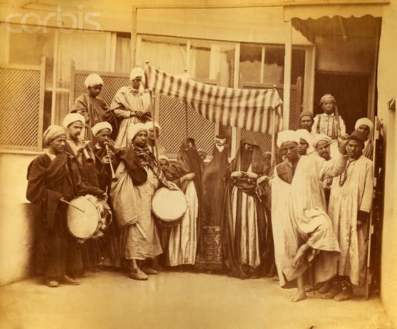 Arab Wedding Procession