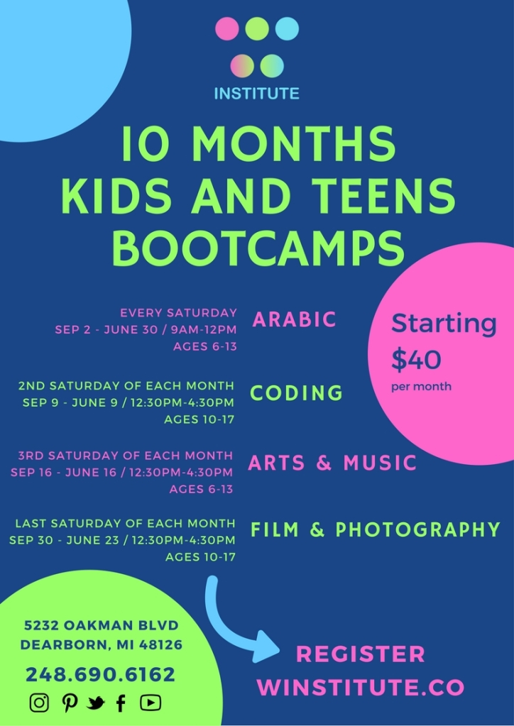 Bootcamp flyer