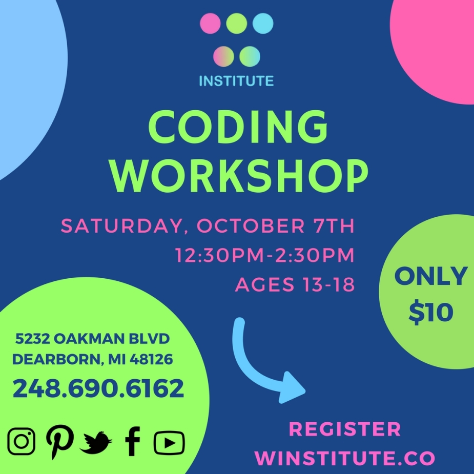 Coding Workshop 102017