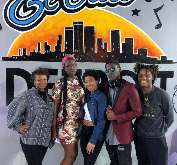 2018 Detroit Youth Poetry Slam Team Members