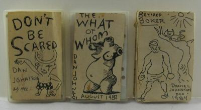 Daniel Johnston - 3 Original Homemade Cassettes