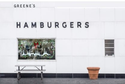 greenes hamburgers photograph jim aho
